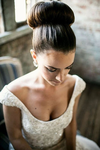 Bridal Ballerina bun june avenue