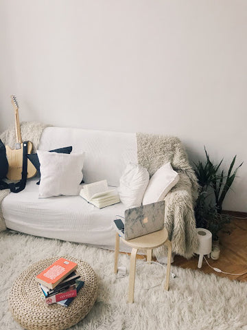 Sheepskin, sofa, home, jm home