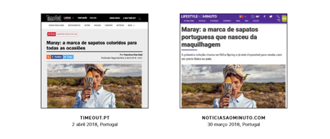 Maray as seen on digital press