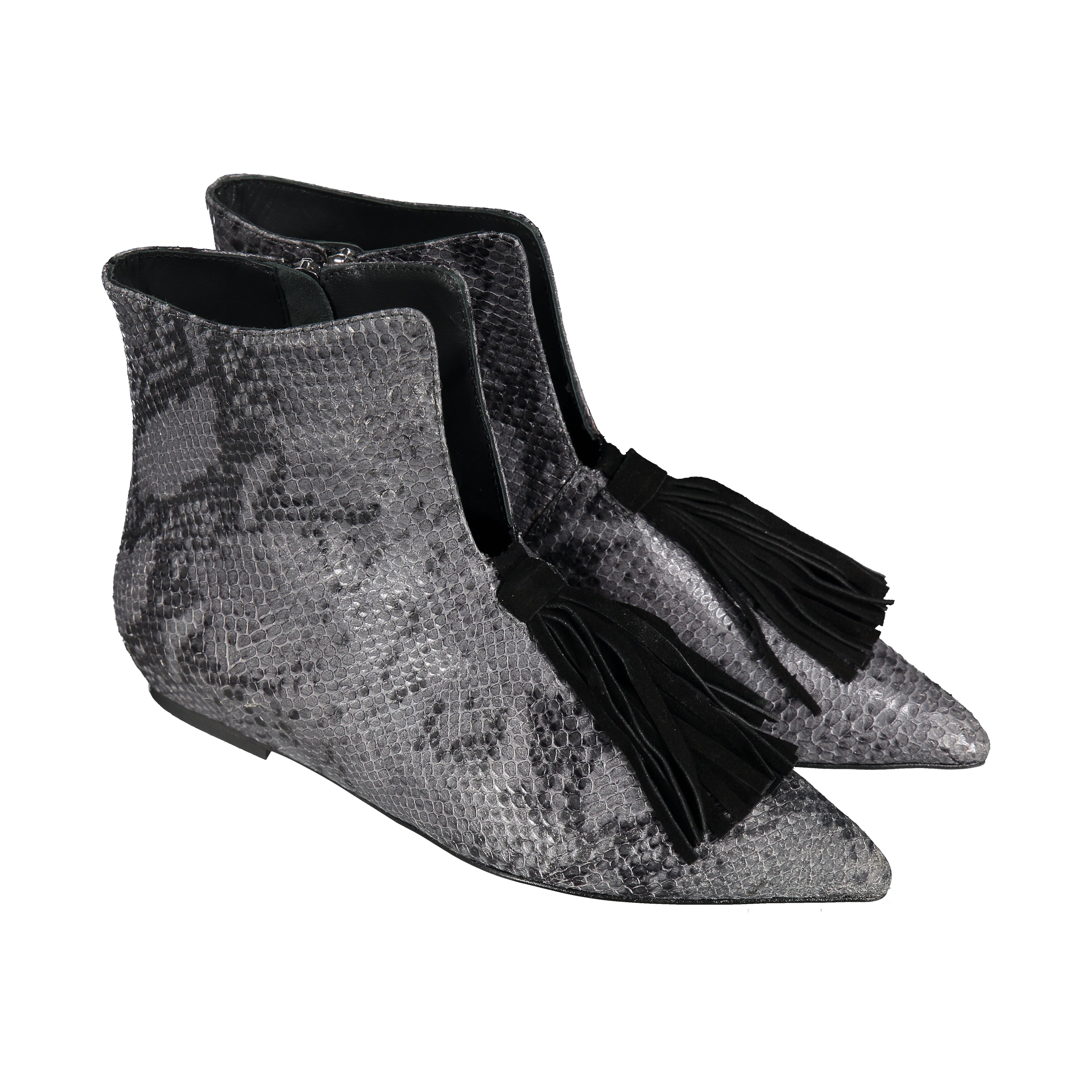 Blossom Boots Grey