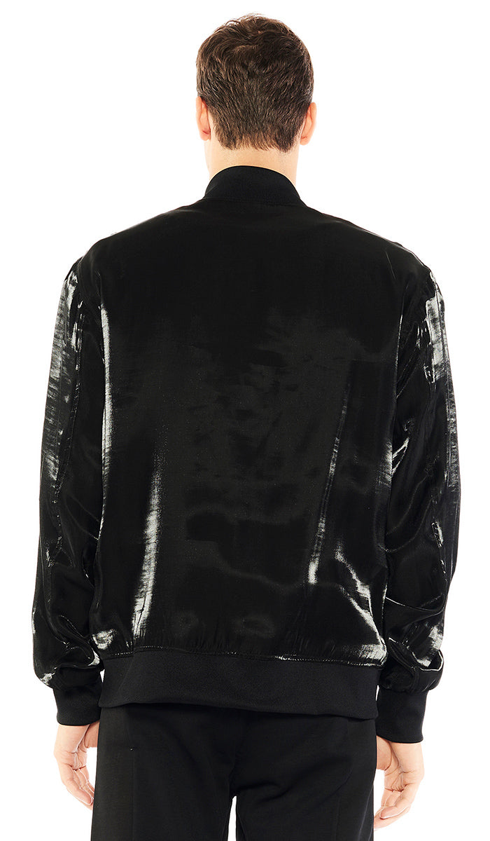 Iridescent Black Jacket