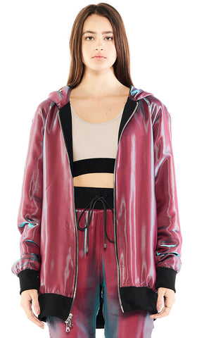 DUSK HOODED JACKET