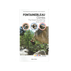 Fontainebleau Climbs guidebook