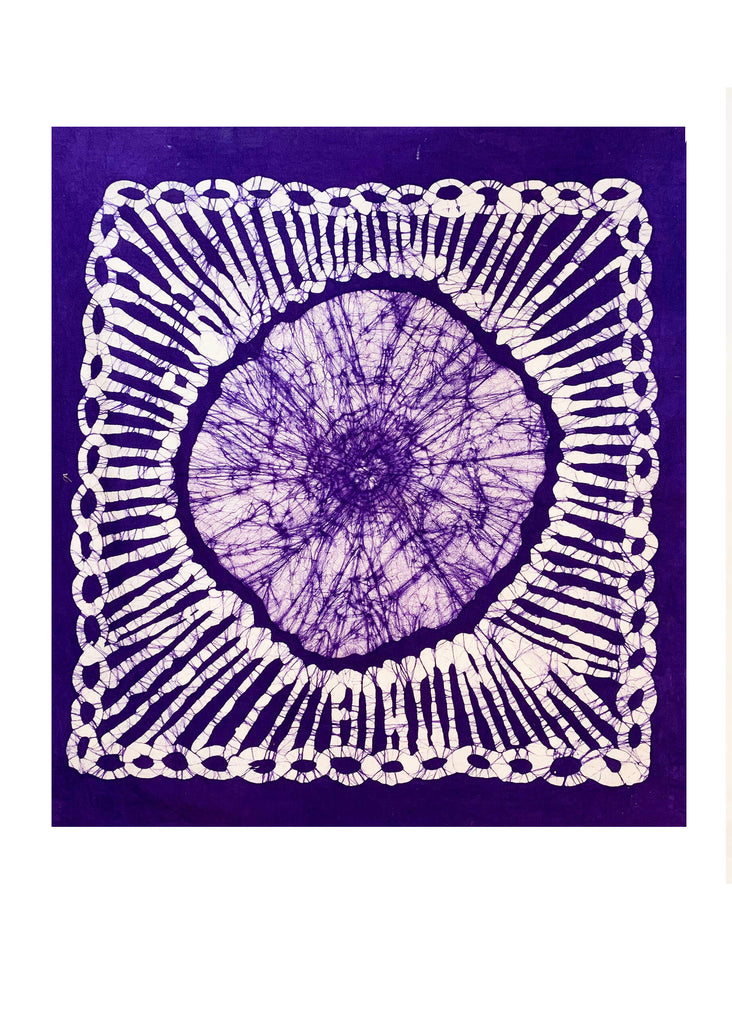 HAND DYED WALL TAPESTRY