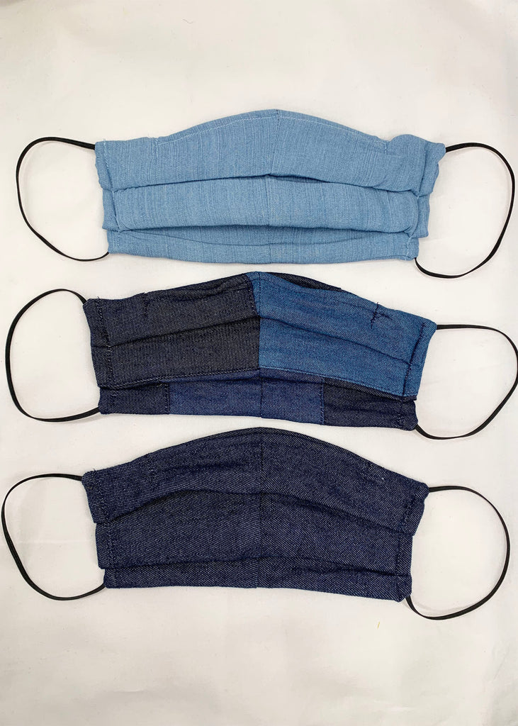 Denim Facemask