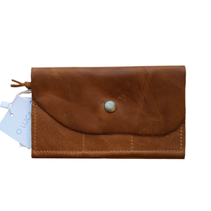 O FRANCISCO - leather wallet - caramel