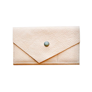O FRANCISCO - leather wallet - natural