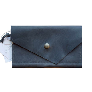 O FRANCISCO - leather wallet - slate