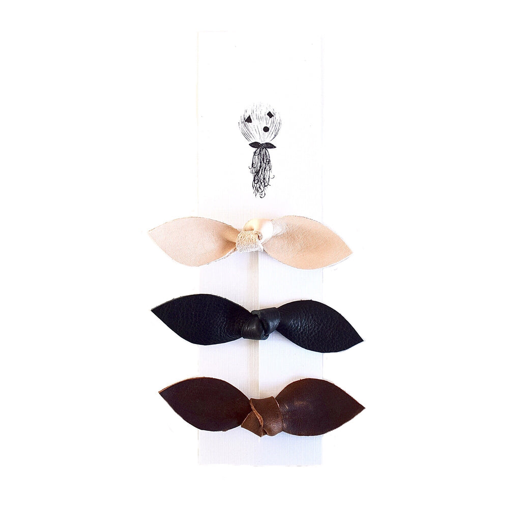 Bow Hair Clip - 3 pack