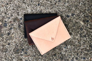 O NEW YORK - leather card wallet