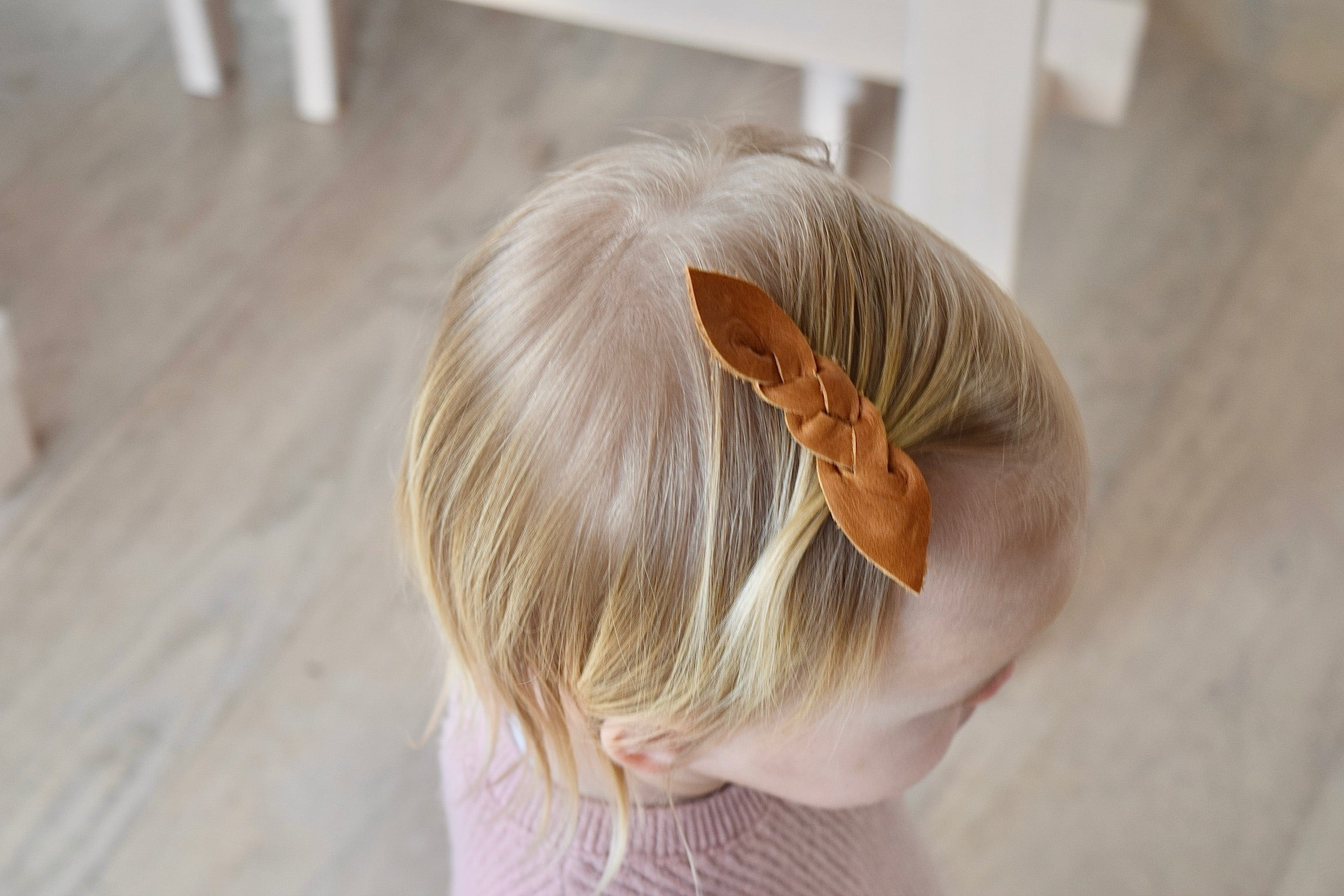 Perfect Braided Hair Clip - 3 pack caramel, black, slate