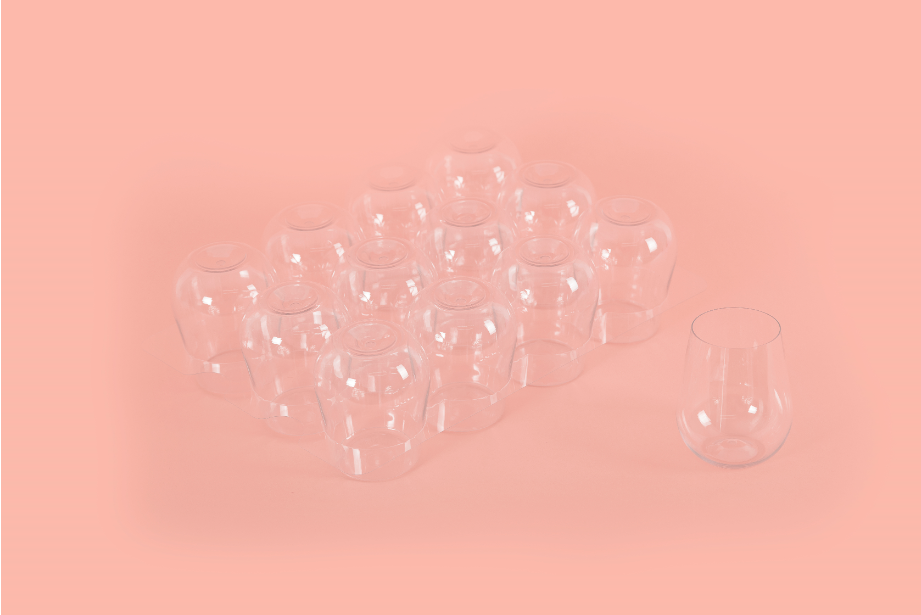 Wine Tumblers with Pourlines (48 Box)