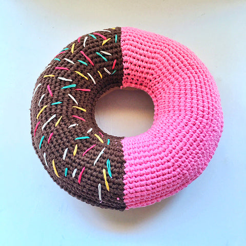 giant donut pillow