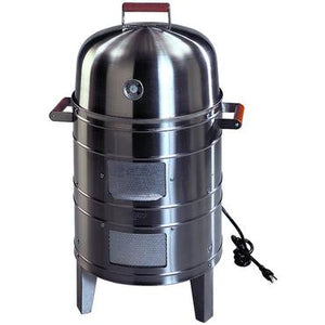 Meco Electric Water Smoker - Stainless Steel