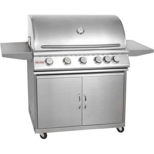 Blaze 40-Inch 5-Burner Freestanding Propane Gas Grill With Rear Infrared Burner - BLZ-5-LP
