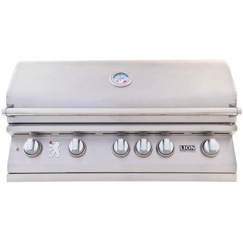 Lion 40-Inch Stainless Steel Built-In Natural Gas Grill