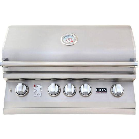 Lion 32-Inch Stainless Steel Built-In Natural Gas Grill