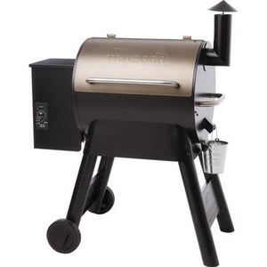 Traeger Pro Series 22 Pellet Grill On Cart - Bronze