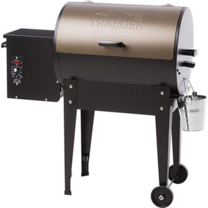 Traeger Junior Elite 20 Pellet Grill On Cart