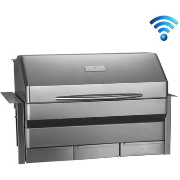 Memphis Grills Elite Wi-Fi Controlled 39-Inch 304 Stainless Steel Built-In Pellet Grill