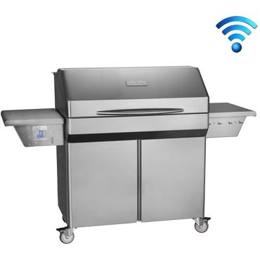 Memphis Grills Elite Wi-Fi Controlled 39-Inch 304 Stainless Steel Freestanding Pellet Grill