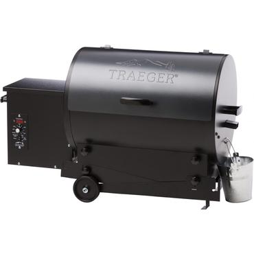 Traeger Tailgater Pellet Grill On Cart - Blue