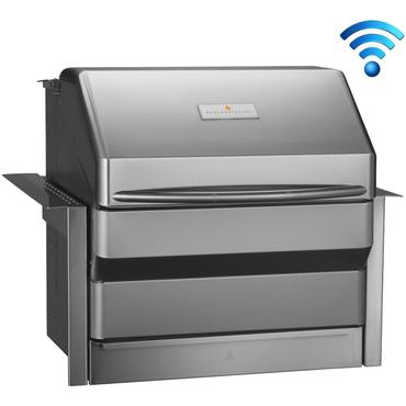 Memphis Grills Pro Wi-Fi Controlled 28-Inch 304 Stainless Steel Built-In Pellet Grill