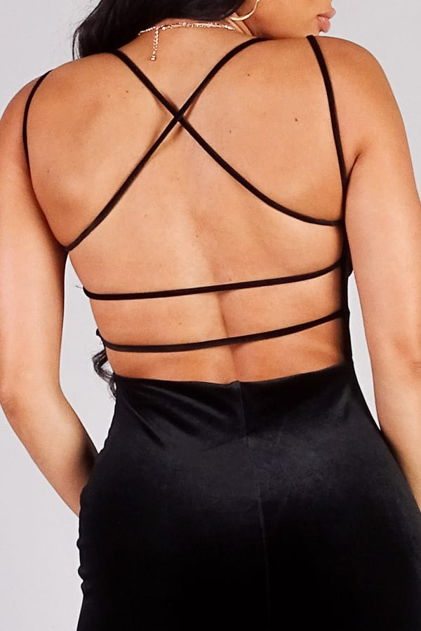Showstopper, Sexy Crossover Strap Dress