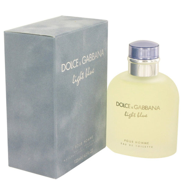 Light Blue By Dolce And Gabbana Eau De Toilette Spray 4.2 Oz