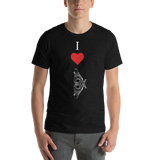 Short-Sleeve Unisex I Heart BX T-Shirt