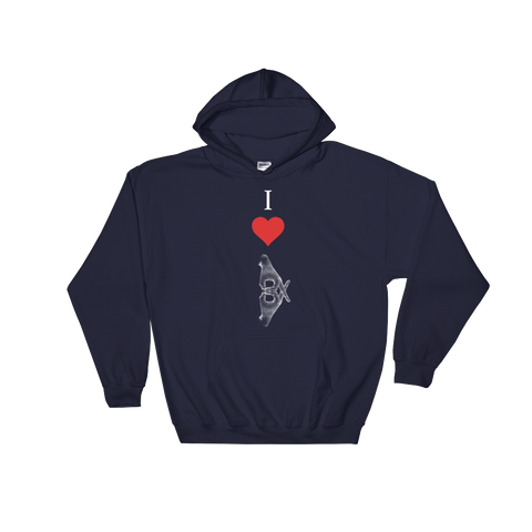 Hooded I Love BX Sweatshirt