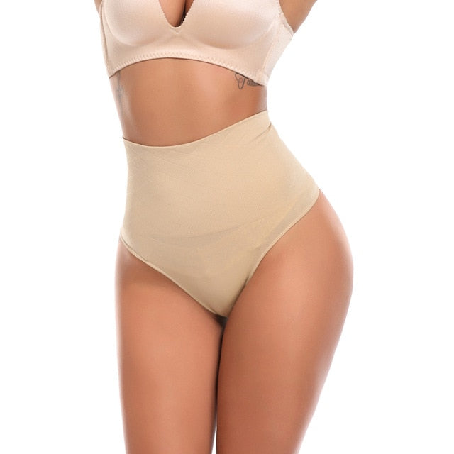 Women High Waist Tummy Control Seamless Shapewear Panties