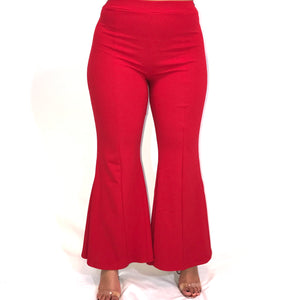 Red Bell Bottoms