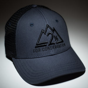 The Black and Blue Trucker