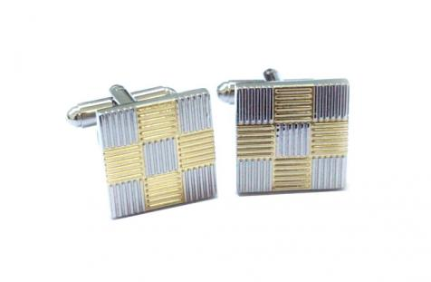 Gold & Silver Squares