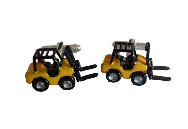 3D Forklift - yellow