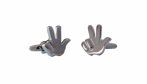 Peace Sign Cufflinks