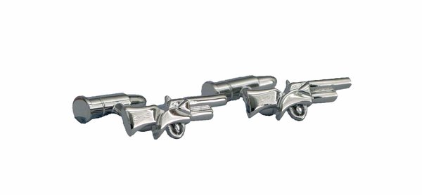 Single Rifle Cufflinks