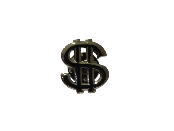 $ Sign Lapel Pin