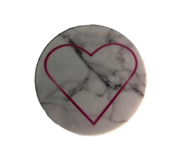 Pink Heart Mable Popsocket