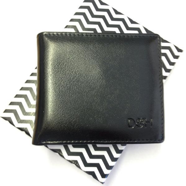 The Brooklyn Bifold Wallet (Black)