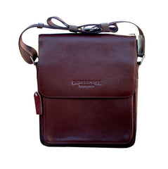 The 'Dapper' Genuine Leather Satchel