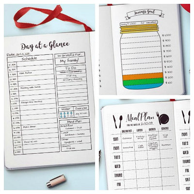 photo about Bullet Journal Pages Printable called 10 Bullet Magazine Printables Your Bujo Prerequisites for 2019 The