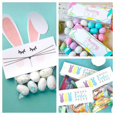 photo about Free Printable Treat Bag Toppers named 12 Absolutely free Printable Easter Take care of Bag Toppers- The Electronic