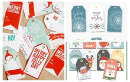 24 Printable Christmas Gift Tags