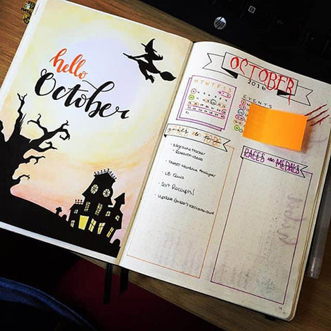 15 Fall Bullet Journal Layouts to Try