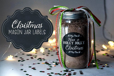 Free Christmas Round Gift Label Printables- If you're looking for last minute Christmas decor, greeting cards, or gift tags, don't bother with the stores or online shopping. Instead, check out these 25 free Christmas printables! | Christmas wall art printables, printable gift tags, holiday printables, kids activities, #freePrintables #Christmas #DigitalDownloadShop