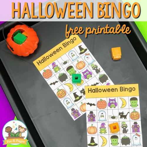 12 Free Halloween Printables- Get your home and candy ready for Halloween with free printable Halloween wall art, labels, treat bag toppers, and more! | #Halloween #freePrintables #wallArt #HalloweenDecor #DigitalDownloadShop