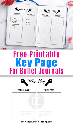 picture relating to Bullet Journal Key Printable referred to as Cost-free Printable Bullet Magazine Main Website page- Electronic Obtain