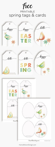 graphic regarding Easter Tags Printable Free titled 17 Cost-free Printable Easter Present Tags The Electronic Down load Retail store